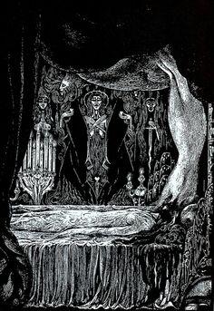 Alberto Martini - Edgar Allan Poe Illustration 9