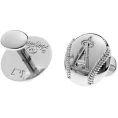 Men's Los Angeles Angels of Anaheim Rawlings Cufflinks, $34.99 http://shareasale.com/m-pr.cfm?merchantid=62865&userid=646297&productid=633124966&afftrack=