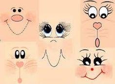 olhos de bonecas de pano - Pesquisa Google