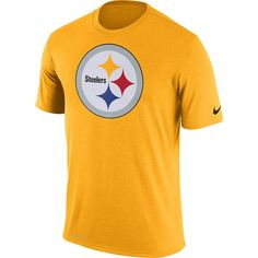 Picture of Pittsburgh Steelers Nike Legend Logo Essential 3 Gold T-Shirt  Nike Gold 99b9234b4