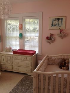 Shabby chic ... like that changing table!