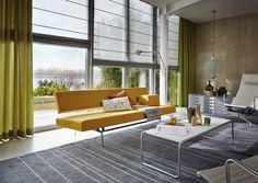 #Luxaflex onthult de #raambekleding trends voor 2014: rustige kleuren en natuurlijke materialen.