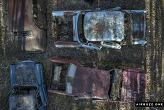 I like the formation and composition of this drone pic.  The remote Swedish scrapyard where old cars rust in peace! Photographed with a drone. https://airbuzz.one/drone-pictures-of-bastnas-car-cemetery/ #dronephoto #droneblogg #djiblogg #djimavicpro #dji #carcemetery #sweden #carwrecks #oldcars #rustycars #cars #sweden #bilskroten #båstnäs #dronephotography