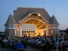 One of my favorite places - the Lake Harriet Bandshell.