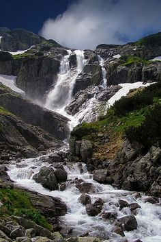 Tatry - Siklawa waterfall