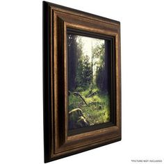"""Craig Frames Inc. 3.02"""" Wide Smooth Distressed Picture Frame Size: 12"""" x 16"""""""