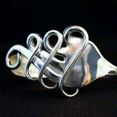 Fork art bracelet
