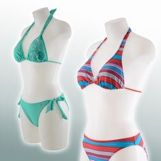 Protest bikini's @ Plutosport.nl