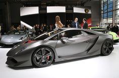 Lamborghini Sesto Elemento At Geneva Motor.
