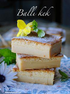Ballı sihirli kek / honey magic cake