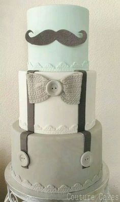 11 Utterly Adorable Baby Shower Cakes  #baby #babyshower #babyshowercakes
