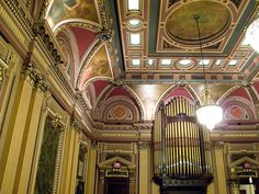 West Wall / Renaissance Room - Masonic Hall - Grand Lodge of the State of New York