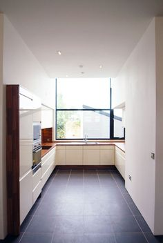 passive house apartment building in Clonmel, Co TIpperary. Ikea Kitchen Design, Kitchen Layout, Kitchen Colors, Kitchen Interior, Kitchen Ideas, Passive House, Residential Architecture, Cool Kitchens, Kitchen Cabinets