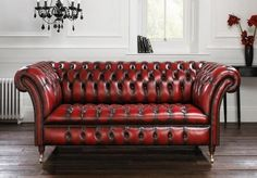 10 Gorgeous Leather Chesterfield Sofa Designs You'll Love - Rilane