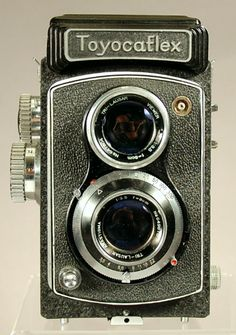 Toyocaflex Twin Lens Reflex Camera
