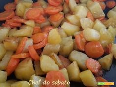 Contorno di carote e patate  #ricette #food #recipes