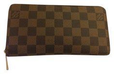 Louis Vuitton Damier Ebene Zippy Wallet $890