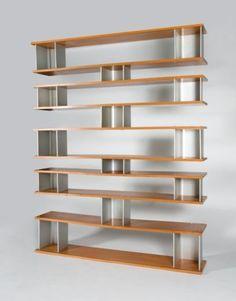 Charlotte Perriand; Shelves for Steph Simon, 1956.