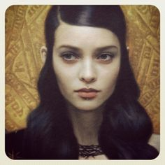 detail of a new Tom Bagshaw piece