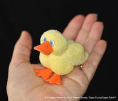 Download Washcloth Ducky Sewing Pattern | Crafts | YouCanMakeThis.com