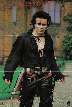 Adam Ant...the good years.  JM