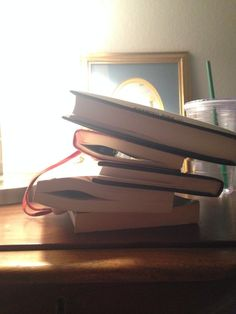 Book Lovers On Instagram Vs. Reality. How your nightstand actually looks: