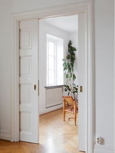 Pocket Doors and herringbone floors