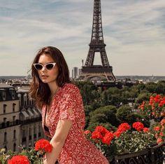 Rouje By Jeanne Damas Laura Dresses, Paris 3, Paris France, Paris Summer, Style Outfits, Photos Voyages, Foto Pose, Oui Oui, Parisian Chic