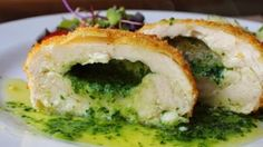It takes a little work, but this succulent chicken Kiev with homemade parsley butter is well worth the effort.