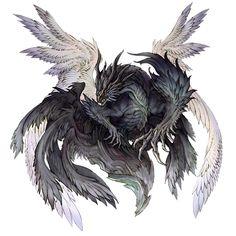Neo Bahamut from Terra Battle