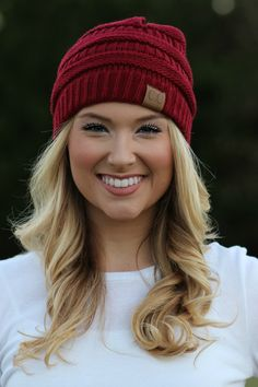 Lavish Boutique - Chilly Day Beanie: Wine , $18.00 (http://lavishboutique.com/chilly-day-beanie-wine/)
