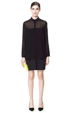 SHIRT DRESS - Dresses - Woman   ZARA United Kingdom