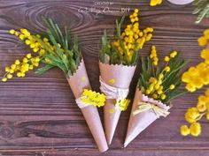 Le Mimosa, Diy And Crafts, Crafts For Kids, Happy Woman Day, Wallpaper For Your Phone, 8th Of March, Flower Crafts, My Flower, Rosettes