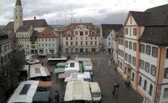 Webcam Ehinger Marktplatz (Germany) daylight
