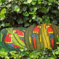 parrots fly due north by Aleksejs Krotovs on Etsy