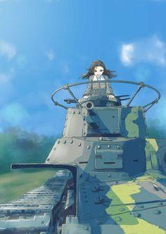 Girls und Panzer: On the move!!!