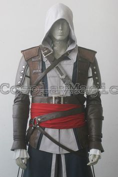 Assassin's Creed IV: Black Flag Edward Kenway Cosplay Costumes