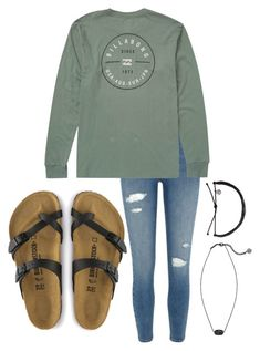 """Why are men's t shirts more comfy"" by allyson04 on Polyvore featuring River Island, Billabong and Kendra Scott"