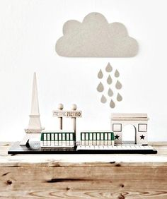 Paris Toy Set from Mokkasin // super cute kids toys. Or desk accessories? #ImABigKidNow