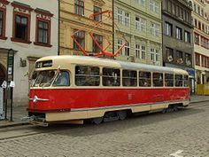 Tram Tatra T2 in Plzeň