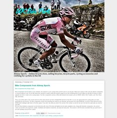 Alimay Sports is an online bike parts supplier that is growing in popularity with cyclists around the UK Bmx Clothing, Online Bike, Bicycle Store, Sport Online, 26 November, Cycling Accessories, Bicycle Parts, Bicycle Components