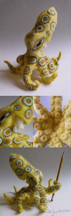 Blue-ringed Octopus by ~FamiliarOddlings on deviantART