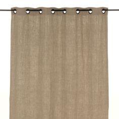 Rideau à œillets Beige - St tropez - Les rideaux - Textiles et tapis - Salon et salle à manger - Décoration d'intérieur - Alinéa