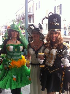 The DIVAS have arrived...catch them parading at 1:00 in the quarter!