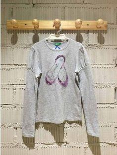 Camiseta UNITED COLORS OF BENETTON gris con lentejuelas