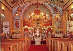 St. Mary's Ukrainian Orthodox Church Altar, Old Chester, PA