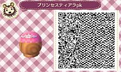 Animal Crossing New Leaf, qr code hat hair and crown