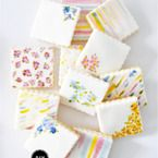 Watercolor Cookies Recipe - Style Me Pretty Living