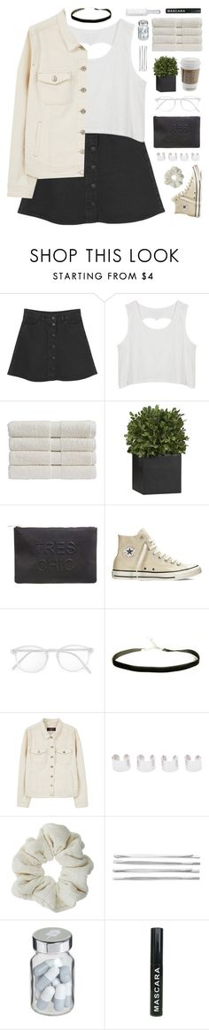 """""""#43 don't break my heart"""" by stellular ❤ liked on Polyvore featuring Monki, Christy, Crate and Barrel, Miss Selfridge, Converse, RetroSuperFuture, Violeta by Mango, Maison Margiela, Topshop and Cara"""