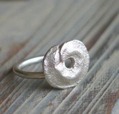 Paros island's Pod sterling Ring